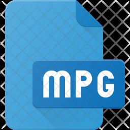 Mpg Film Flat Icon