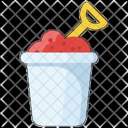 Mud Bucket Icon