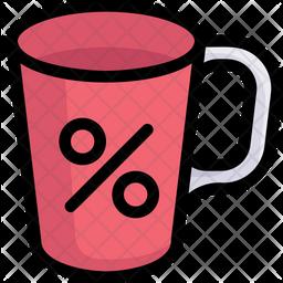 Mug Discount Icon