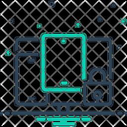 Multidevice Security Icon