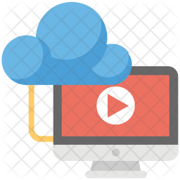 Multimedia cloud Icon