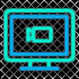 Multimedia Computer Icon
