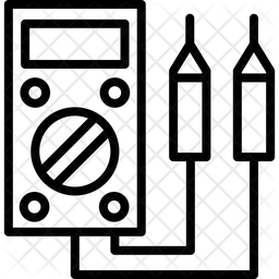 Multimeter Line Icon