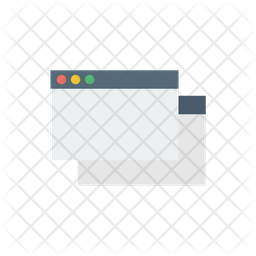 Multiple Browser Flat Icon