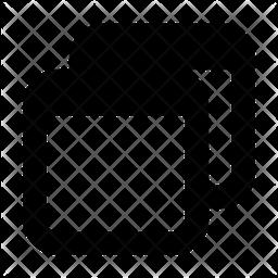 Multiple-tab Glyph Icon
