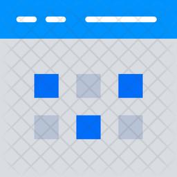 Multiple Tabs Flat Icon