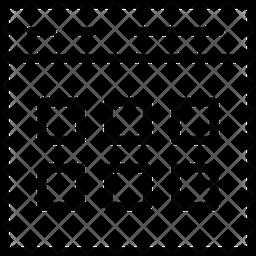 Multiple Tabs Line Icon
