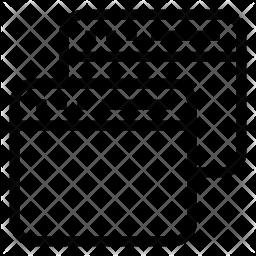 Multiple window Line Icon