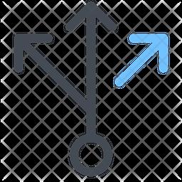 Multiply arrow Icon