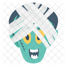 Mummy Face Icon
