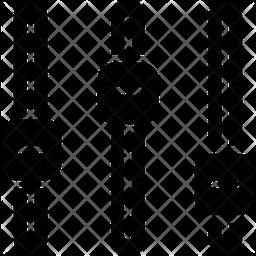Music adjuster Glyph Icon