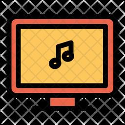Music Computer Icon