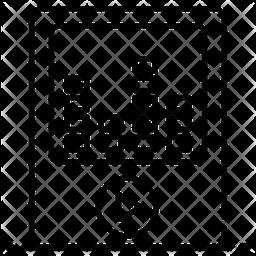Music Equalizer Line Icon