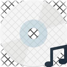 Music file cd Icon