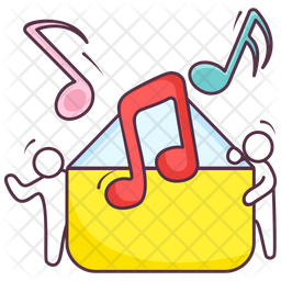 Music Letter Icon