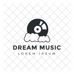 Music Logo Colored Outline Icon