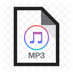 Music Mp3 Icon Of Colored Outline Style Available In Svg Png Eps Ai Icon Fonts