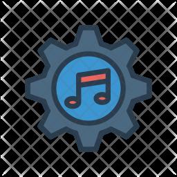 Music Setting Icon