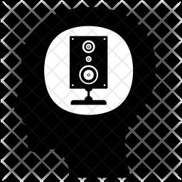 Music thinking Icon