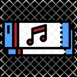 Music Ticket Icon