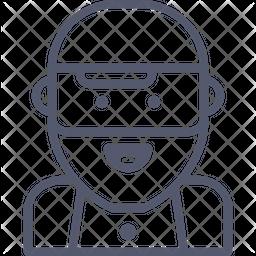 Muslim Line Icon