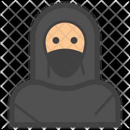 Muslim Girl Emoji Icon