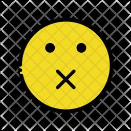 Mute emoji Emoji Icon