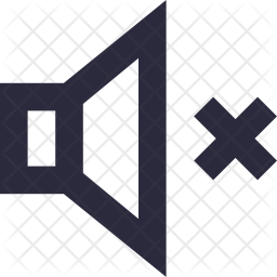 Mute Volume Icon