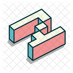 N alphabet Icon