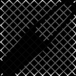 Nail file Glyph Icon