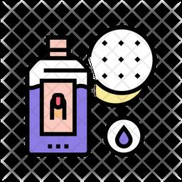 Nail Polish Remover Icon