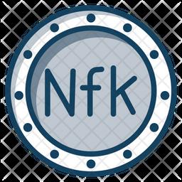 Nakfa Coin Icon