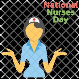 National Nurses Day Icon