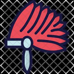 Native Head Dress Icon