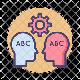 Natural Language Processing Icon