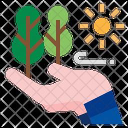 Nature Care Flat Icon