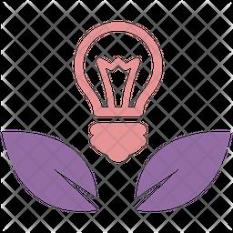 Nature Idea Flat Icon