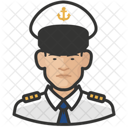 Naval Male Officers Icon