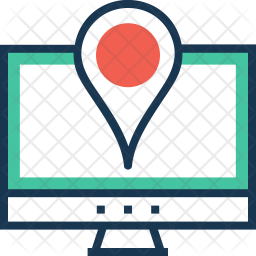 Navigation Colored Outline Icon