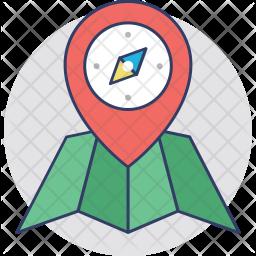 Navigator Colored Outline Icon