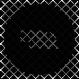 Nebraska Glyph Icon