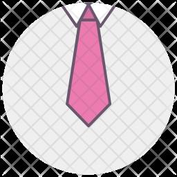 Necktie, Tie, Office, Business, Professional, Dress Icon