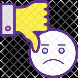 Negative Feedback Icon