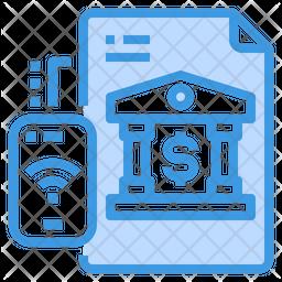 Net Banking Document Icon