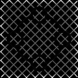 Network Line Icon