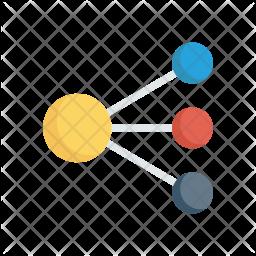 Network Flat Icon