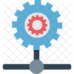 Network Configure Flat Icon