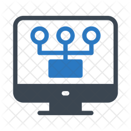 Network Connection Flat Icon
