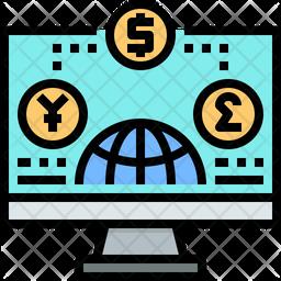 Network Economy Icon