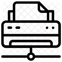 Network Printer Icon